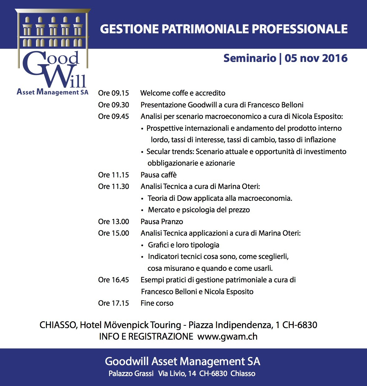 gestione patrimoniale a Chiasso