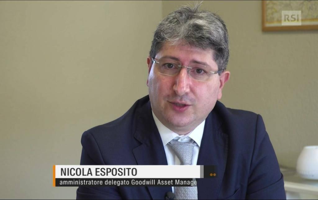 OTELEVISIONE SVIZZERA NEGLI UFFICI DI GOODWILL ASSET MANAGEMENT INTERVISTA L'AD NICOLA ESPOSITO